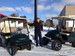 custom carts livingston county golfing cars lifts